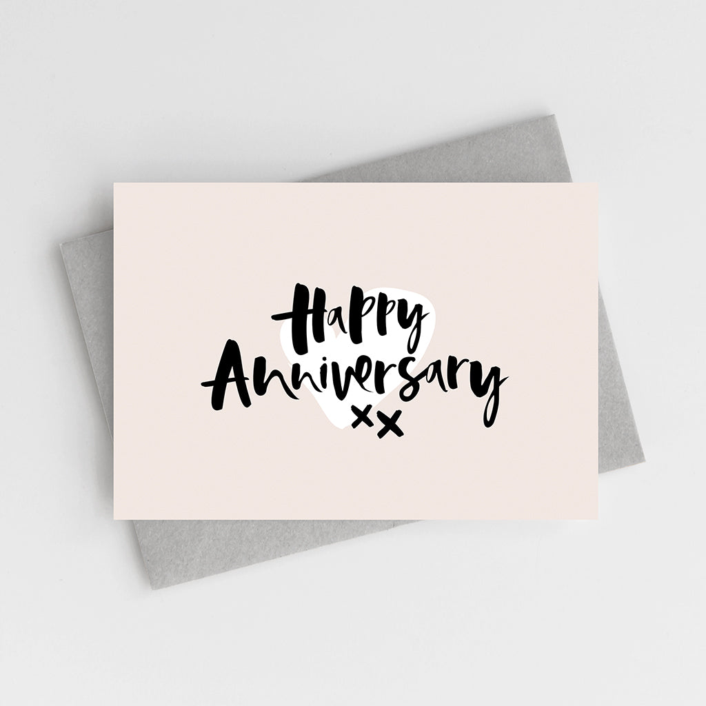 'Happy Anniversary' Card