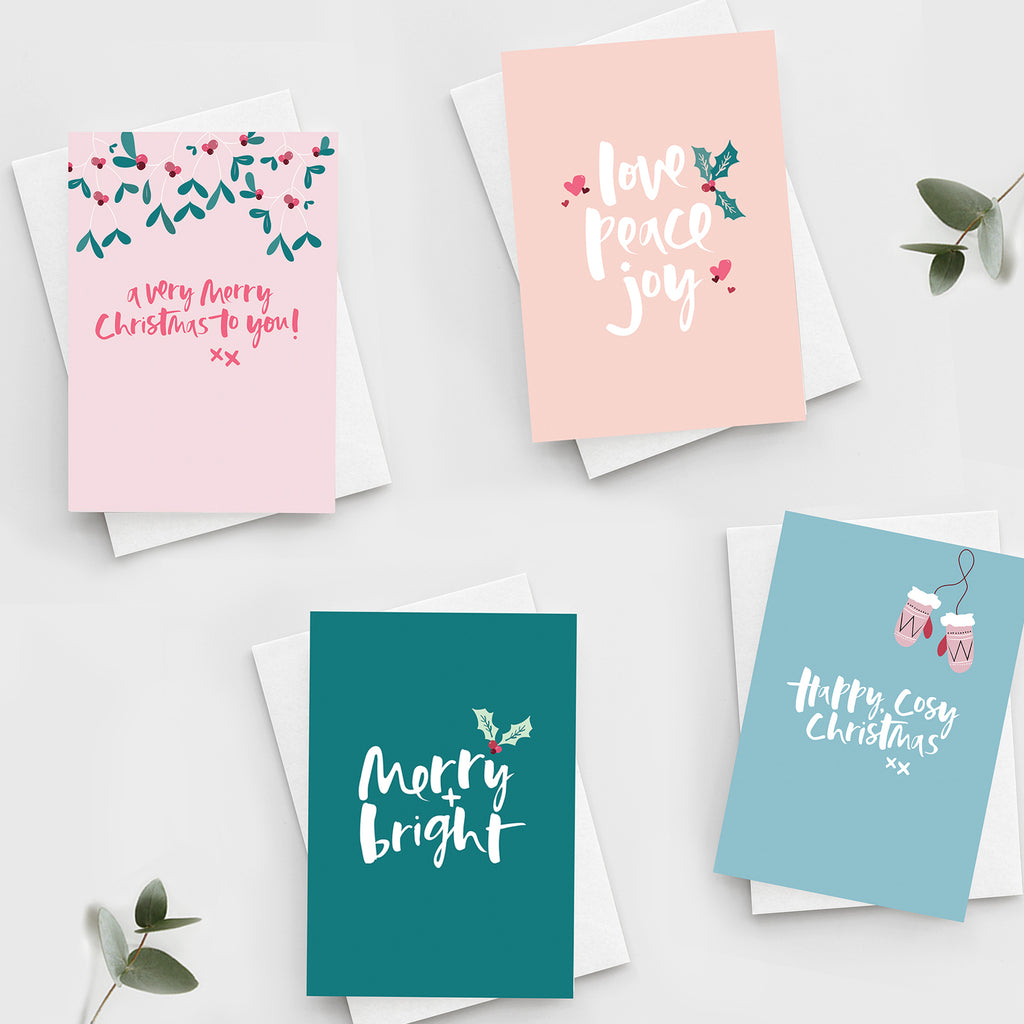 'Joyful Christmas' Card Set