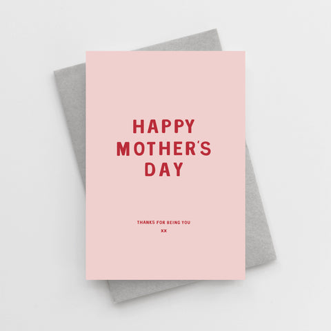 'Happy Mother's Day (Thanks For Being You)' Card