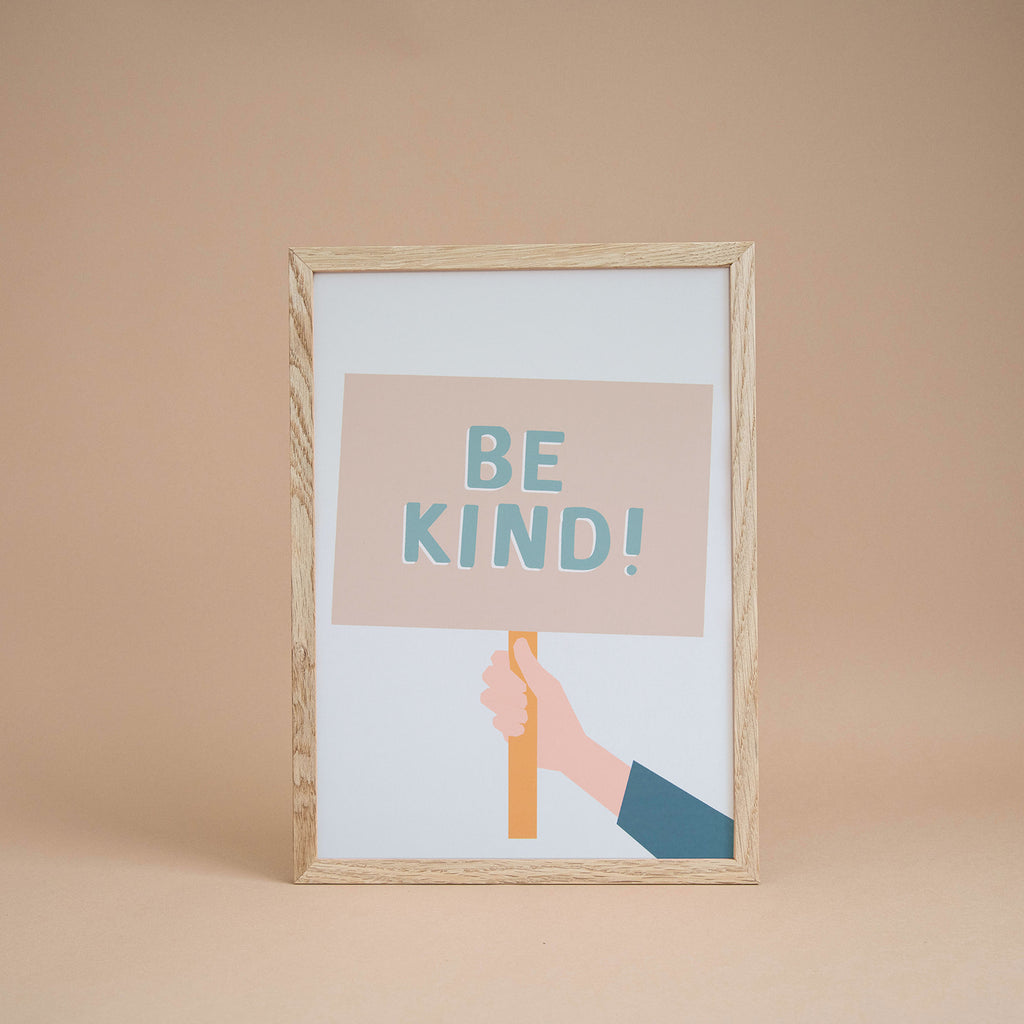 'Be Kind' Boy's Print