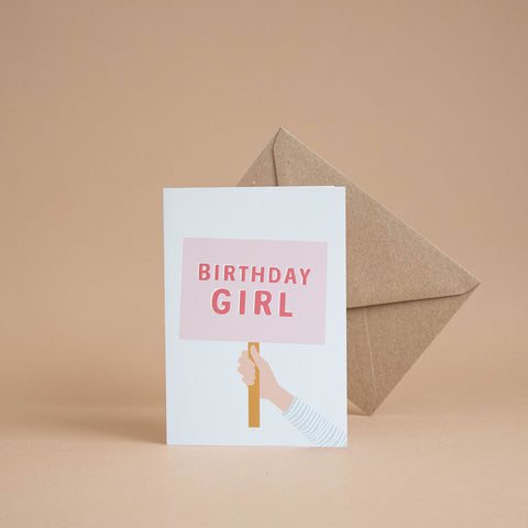 'Birthday Girl' Card