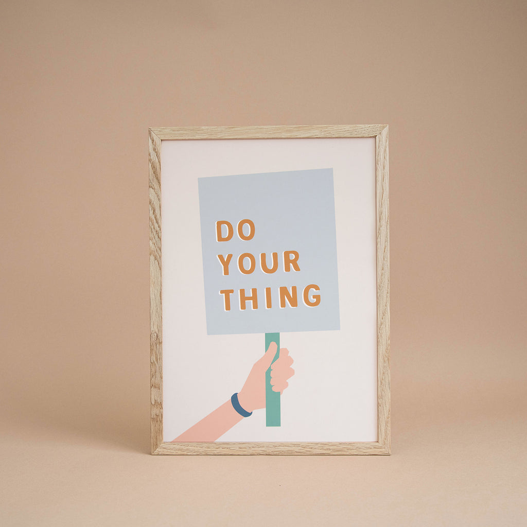 'Do Your Thing' Boy's Print