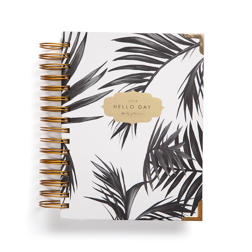 Palma - Minimal 2018 Daily Planner by Hello Day