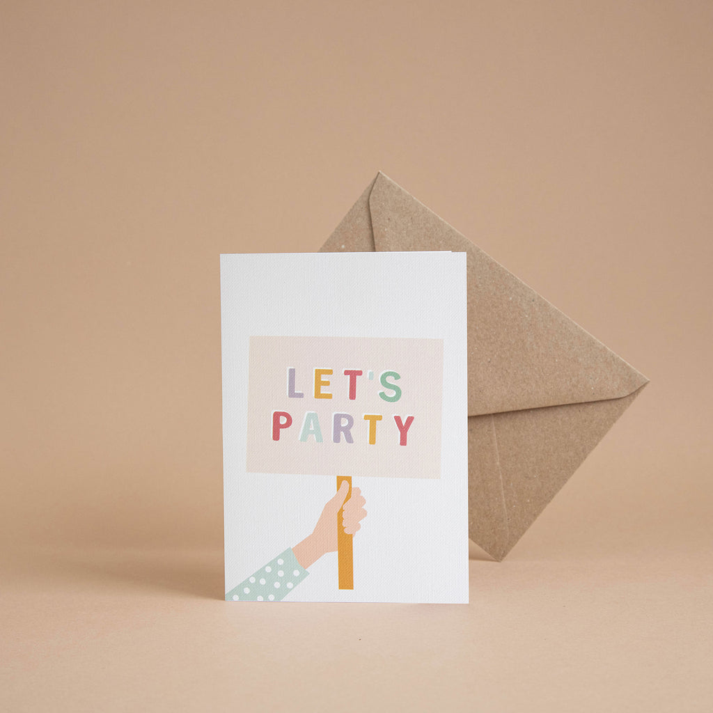 'Let's Party' Card
