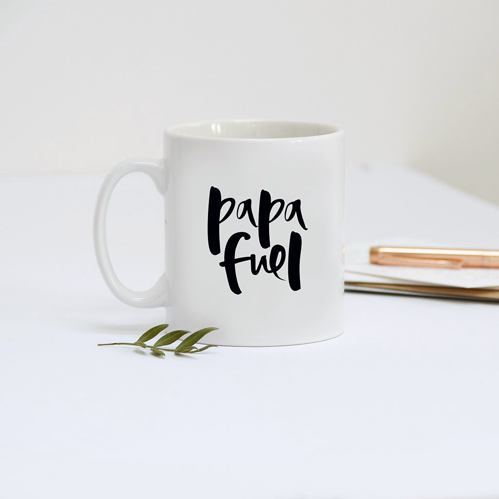 'Papa Fuel' New Dad Mug