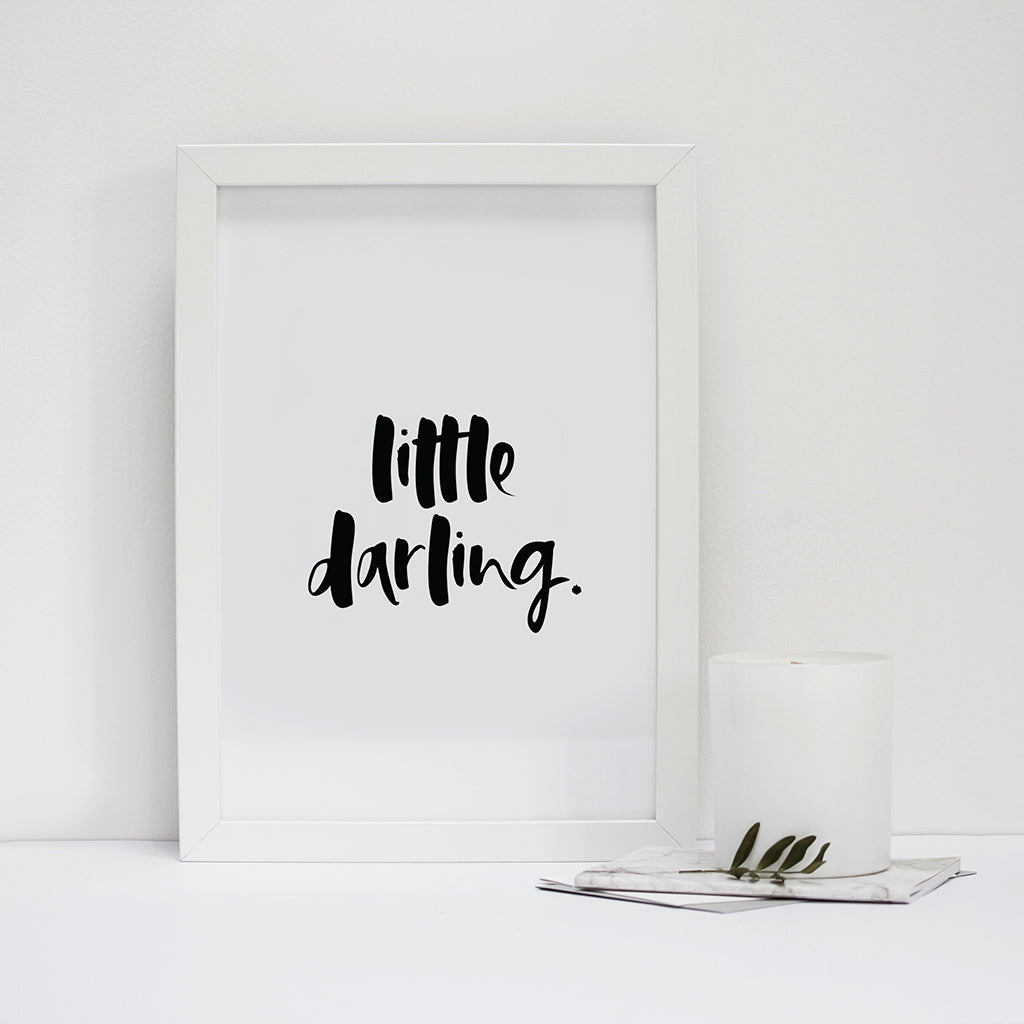 'Little Darling' Print