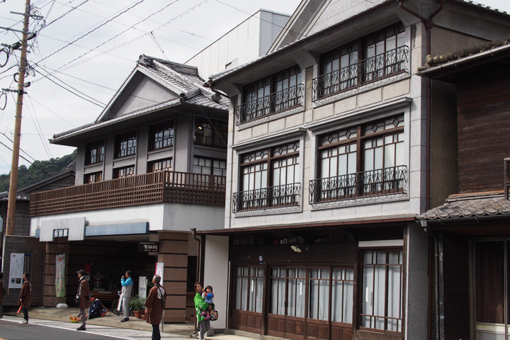 Beautiful architecture in Arita town Japan