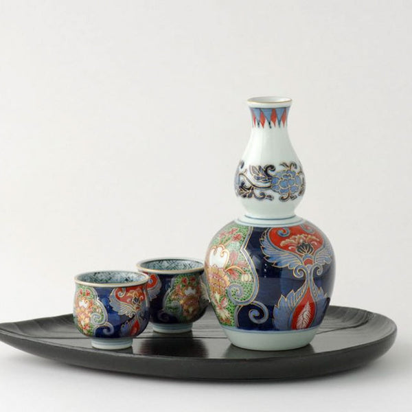 Japanese Sake set from Arita, Japan ars1238