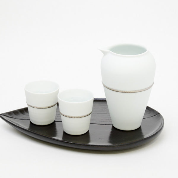 Japanese sake set from Arita, Japan