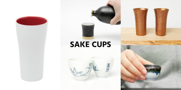 Japanese Sake Cups | JPAP - Japanese tableware and fine gifts