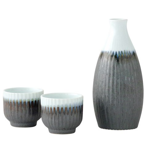 Japanese sake set from Arita, Japan toe0719
