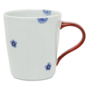 Mug 320ml, Small Flowers/Red  | Studio1156 - Japanese tableware and fine gifts