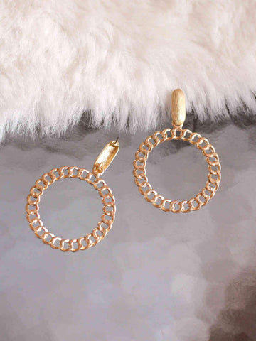 Chained Matte Earring