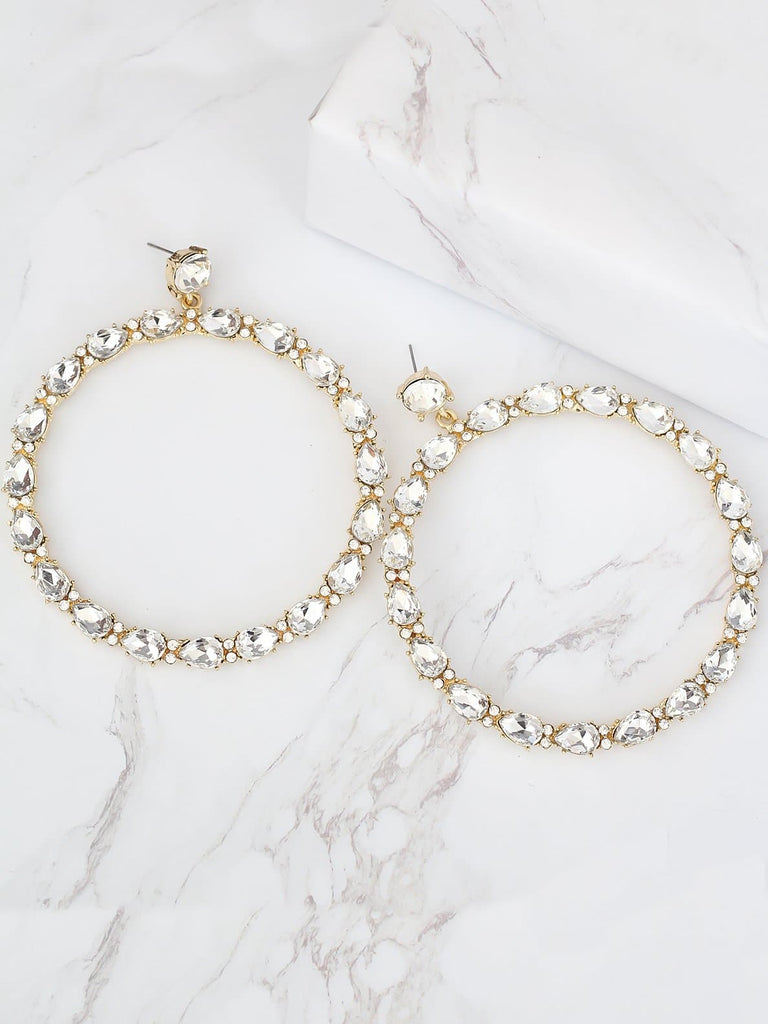 Bellofox Alexa Oversized Hoops Earrings BE3416