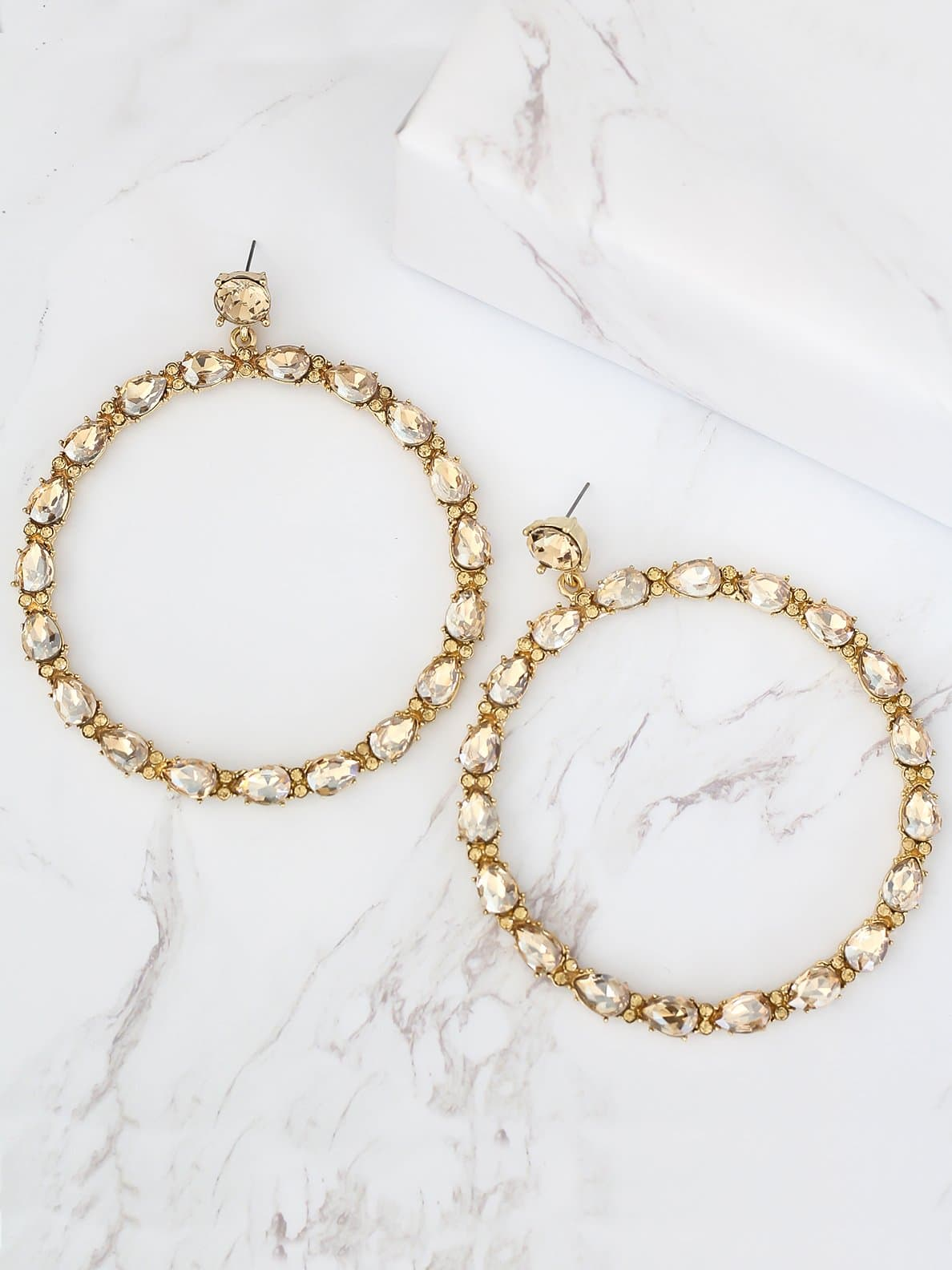 Bellofox Alexa Oversized Hoops Earrings BE3417