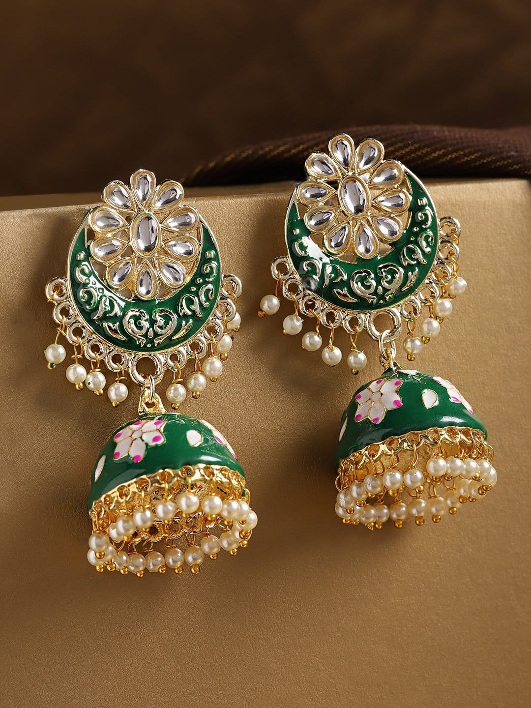 Kairi Aliya Chand Jhumkis KEarrings KE1005