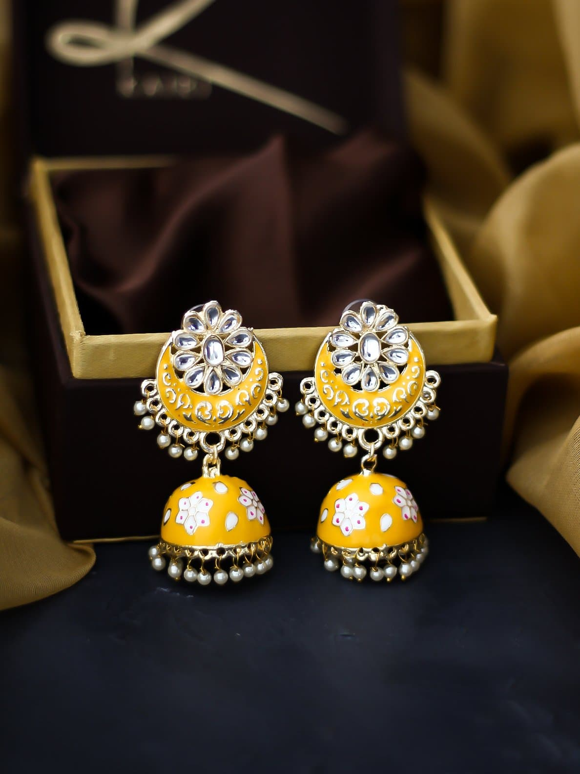Kairi Aliya Chand Jhumkis KEarrings KE1049