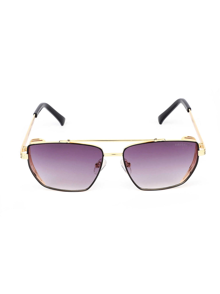 Bellofox Murcia Sunnies Gold Sunglasses
