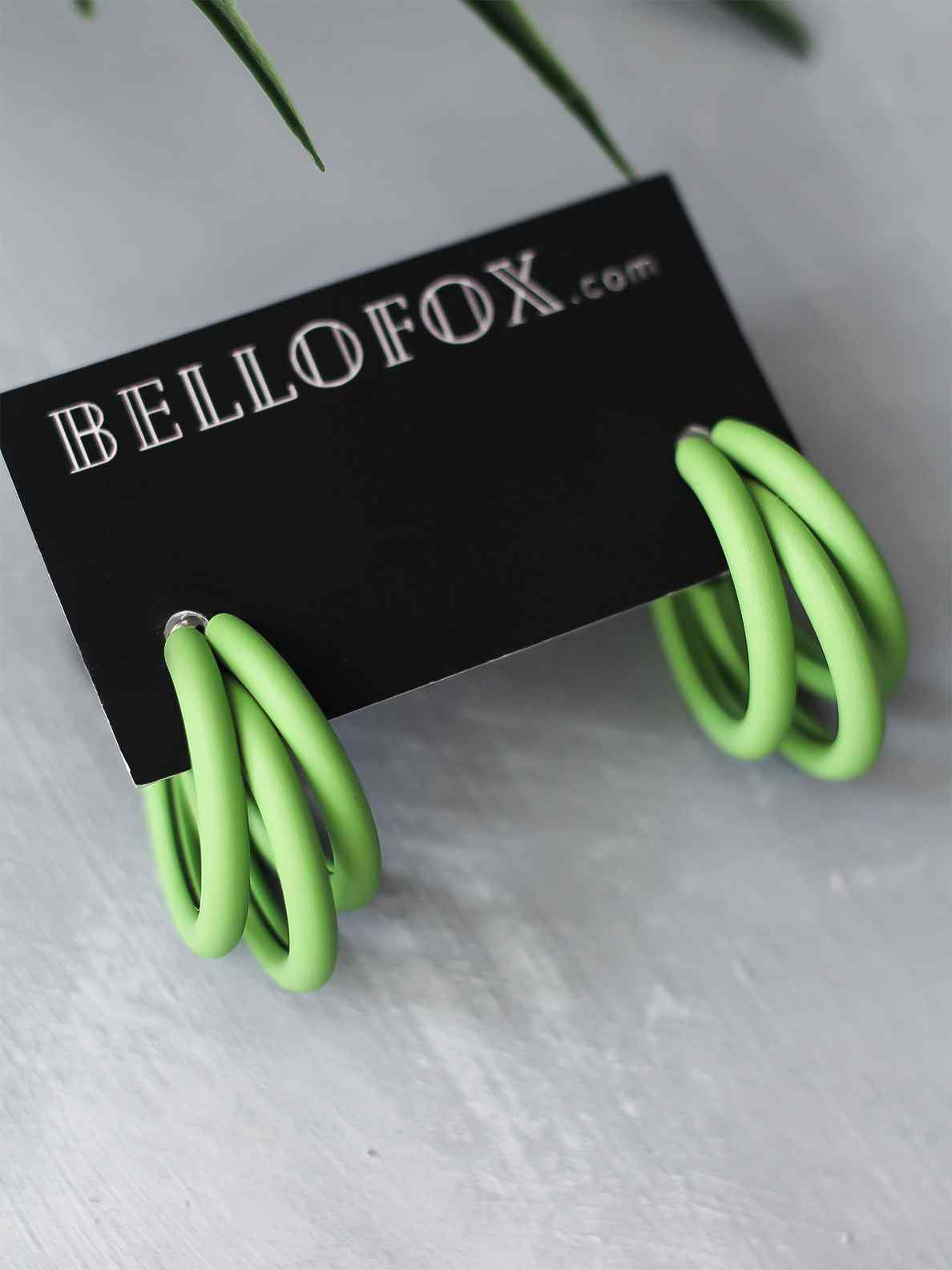 Bellofox Baby Chunk Hoops Earrings BE3228