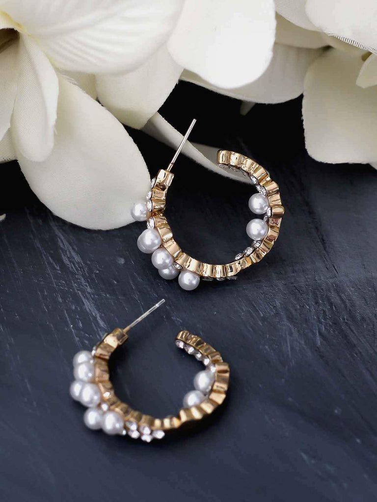 Bellofox Baby Pearl Hoops Earrings BE3284