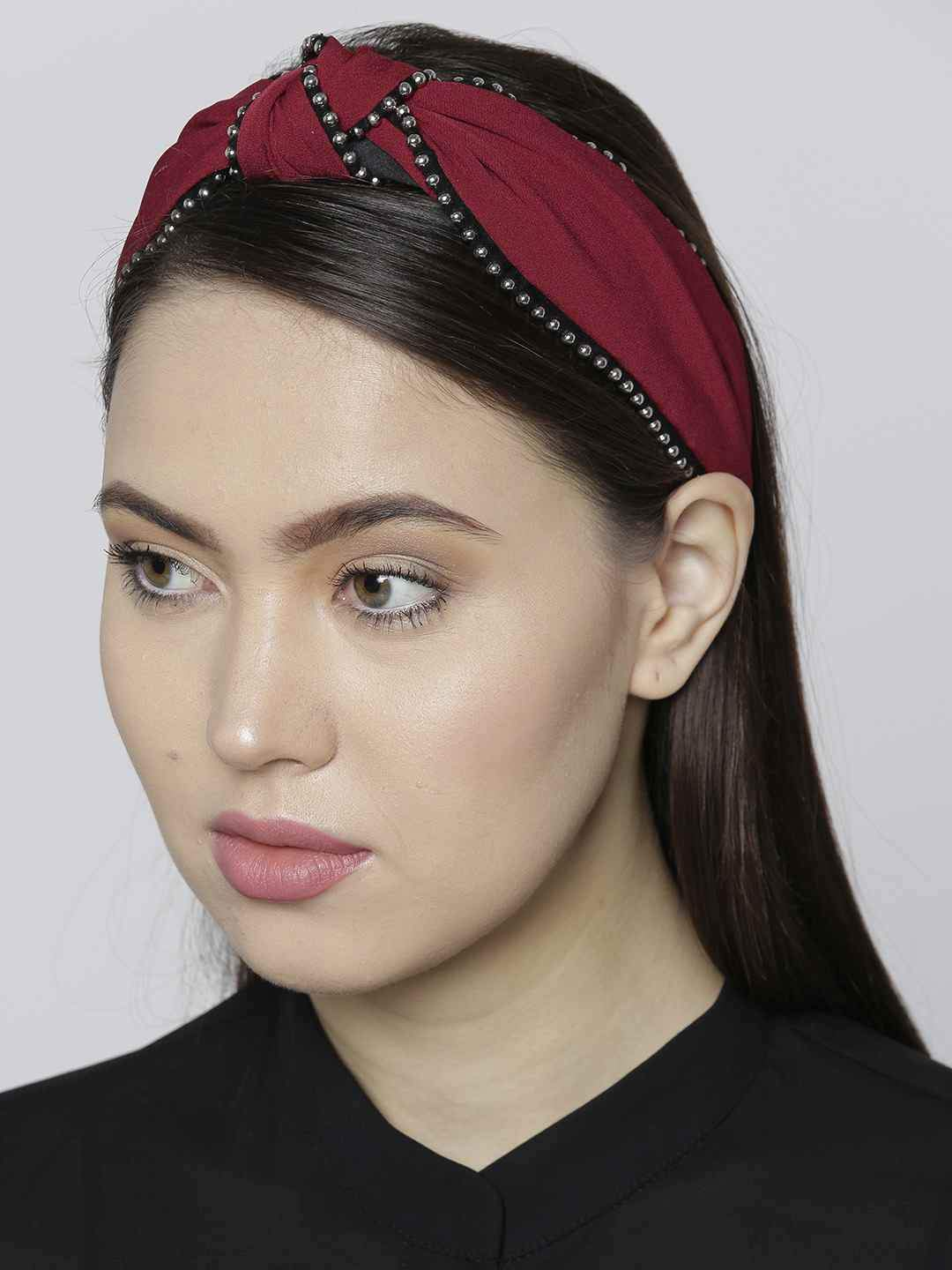 Bellofox Beaded Broad Headband Hair Accessories HA1008