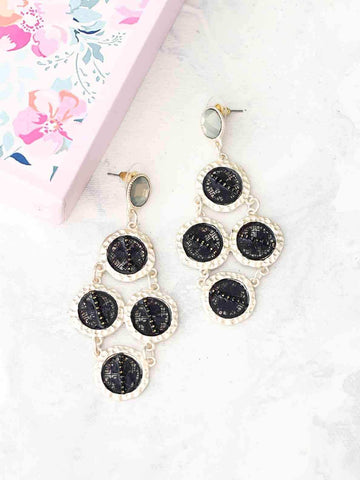 Bellofox Black Rain Earrings