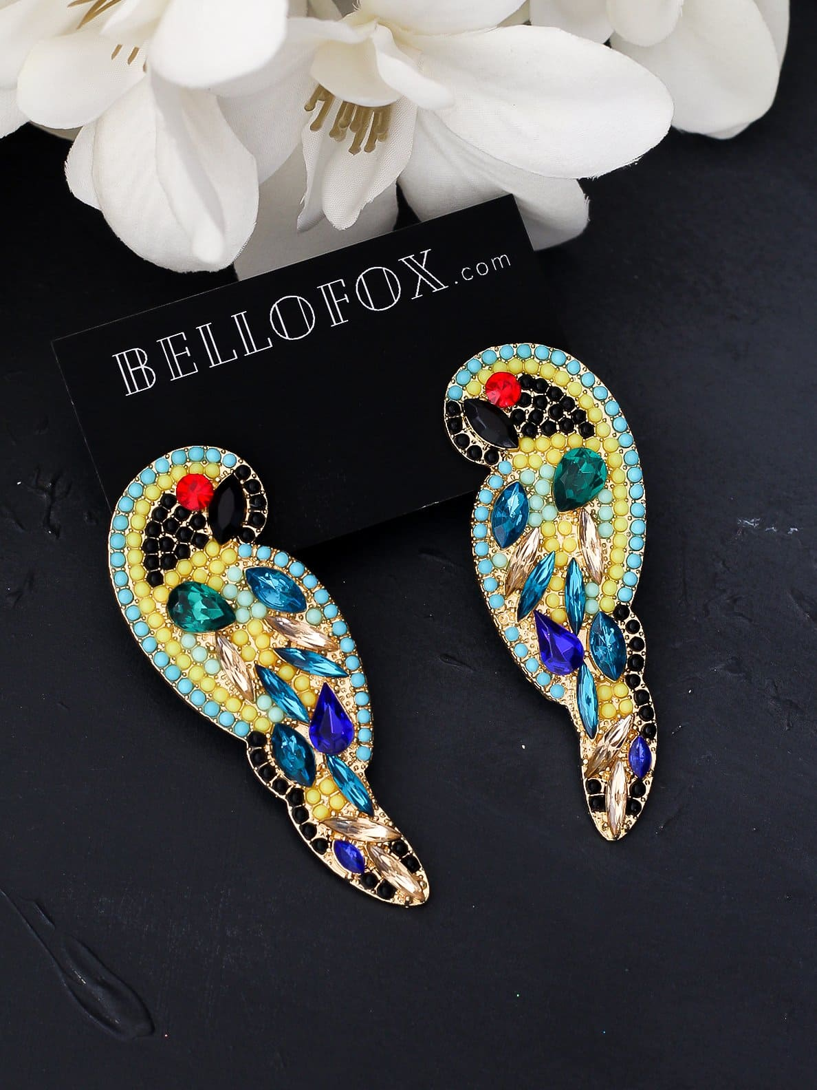 Bellofox Bling Parrots Earrings BE3465