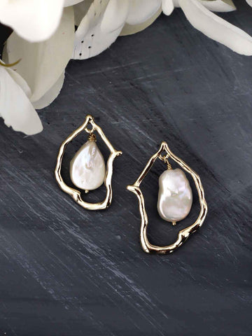 Bellofox Cloaked Pearls Earrings BE3298