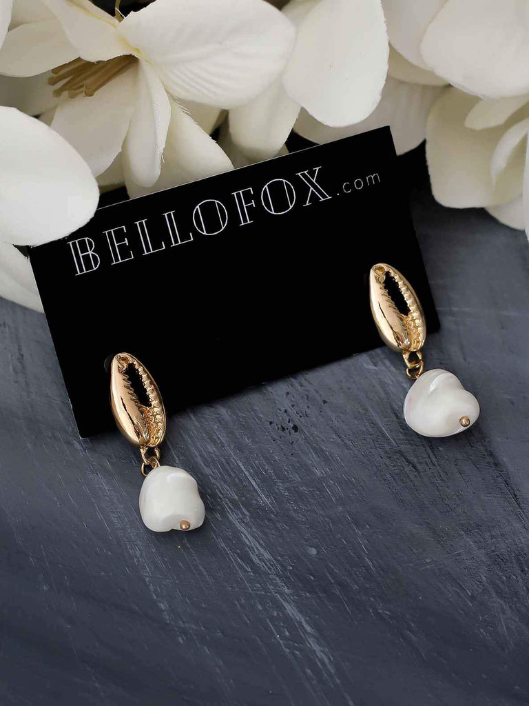 Bellofox Concha Pearl Earrings BE3302