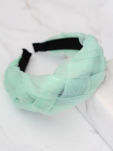 Bellofox Crinckled Braided Headband Hair Accessories