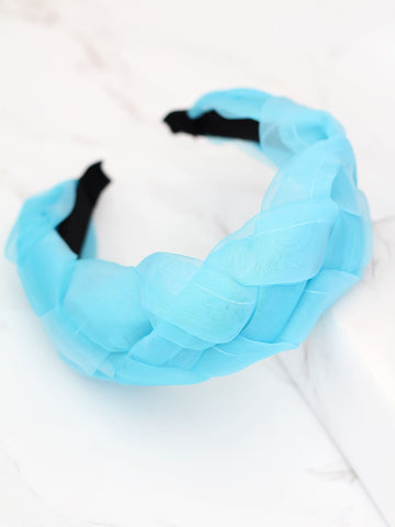 Crinckled Braided Headband
