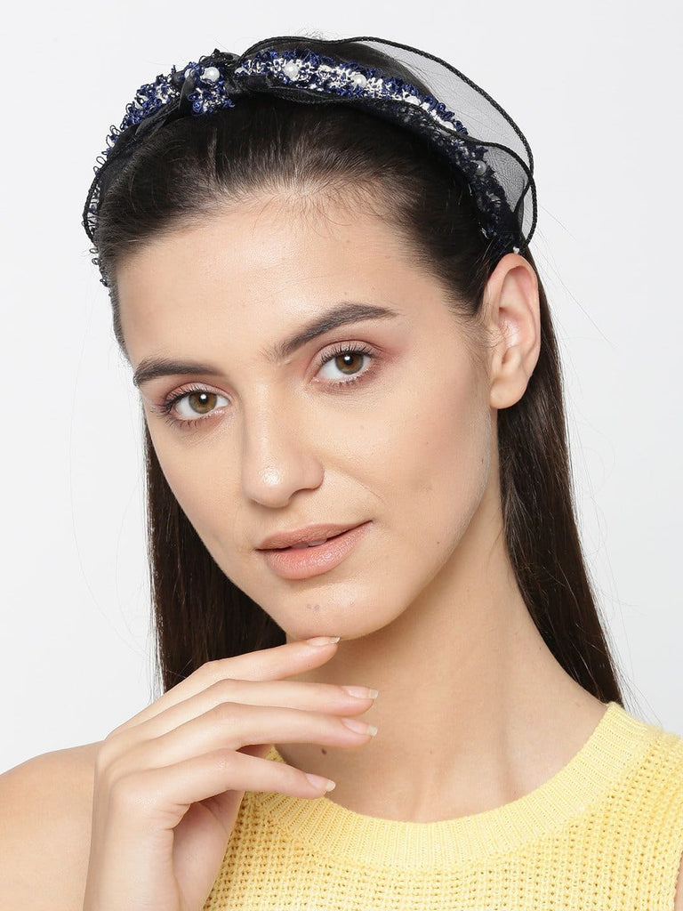 Bellofox Crinkled Organza Headband Hair Accessories HA1181