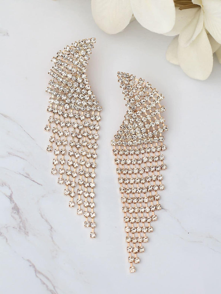 Bellofox Curved Tassels Earrings
