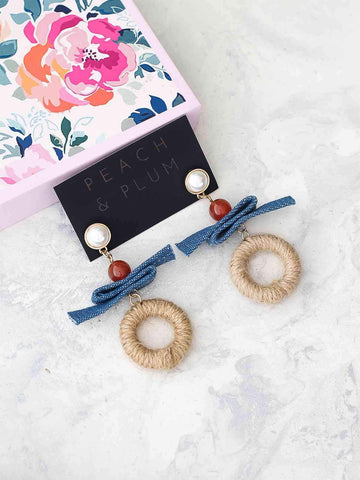 Bellofox Denim Damzel Earrings
