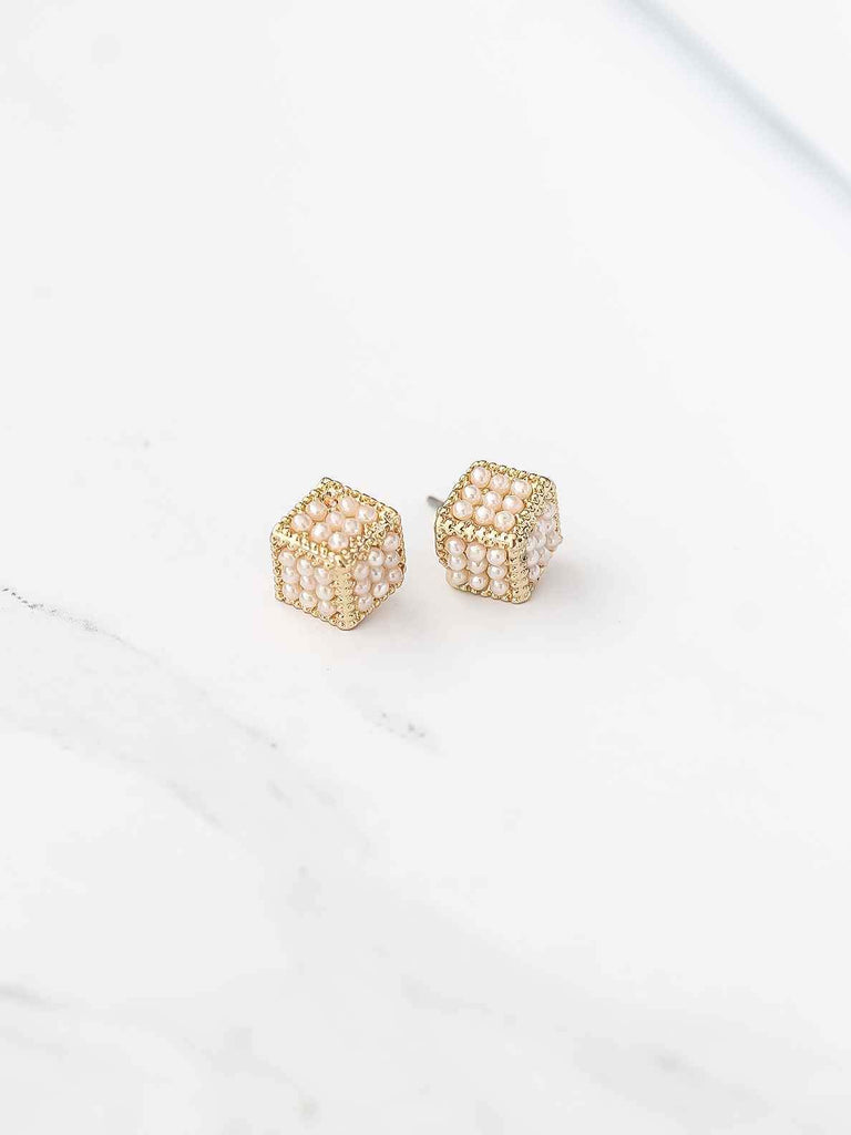 Bellofox Dice Studs Earrings BE3292