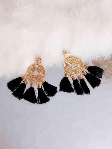 Bellofox Disc Tassels Earrings BE3052