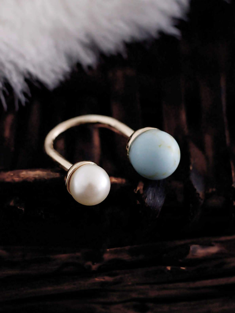 Bellofox Double Marble Rings BR1173