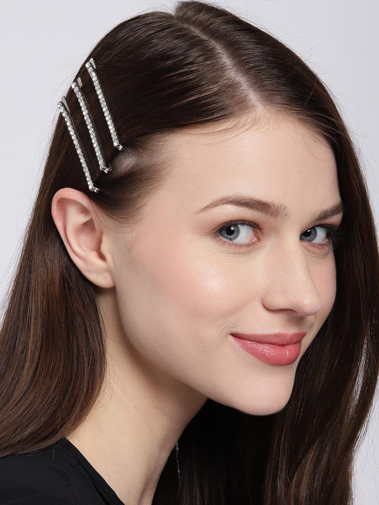 Bellofox Embellished Bobby Pins - Set of 6 Hair Accessories