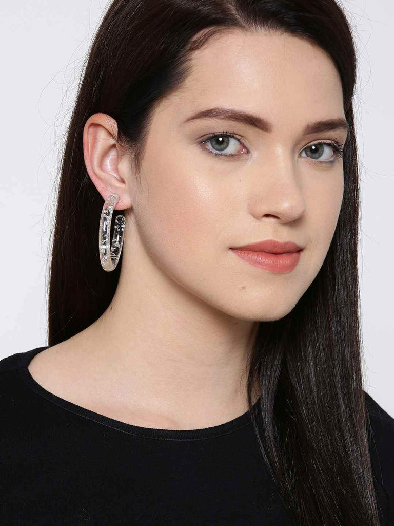Bellofox Exilir Acrylic Hoops Earrings BE3178