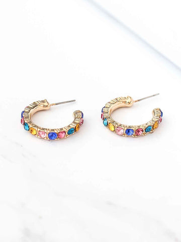 Bellofox Fire Ring Hoops Earrings BE3281