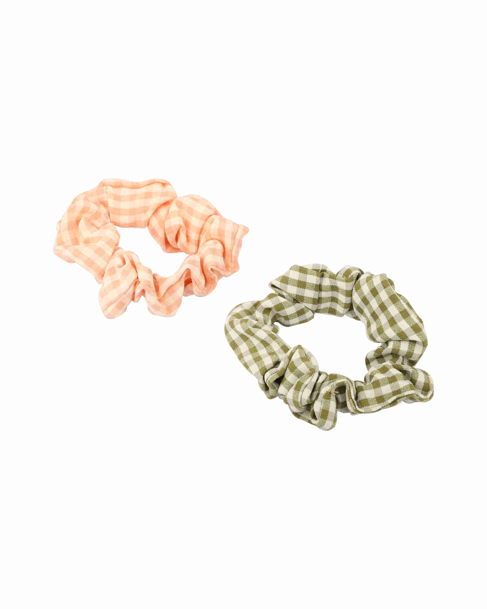 Plaid Scrunchies - Set of 2
