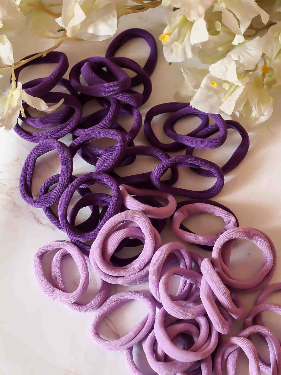Bellofox Ombre Hairtie Stack - Pack of 50 Hair Accessories