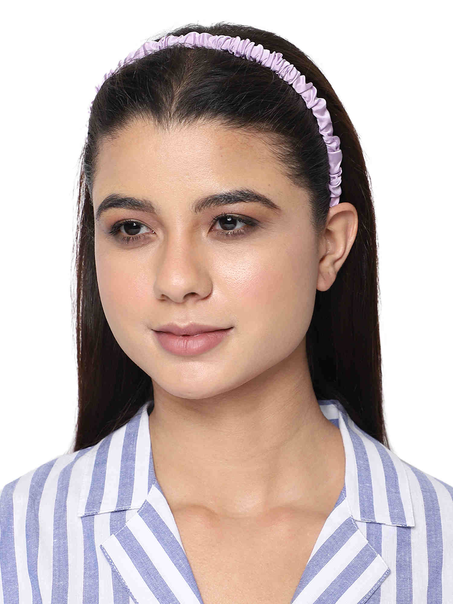 Bellofox Sleek Crinkled Headband Hair Accessories