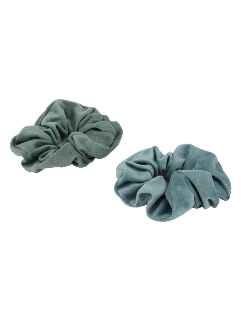 Shades of Blue Scrunchie