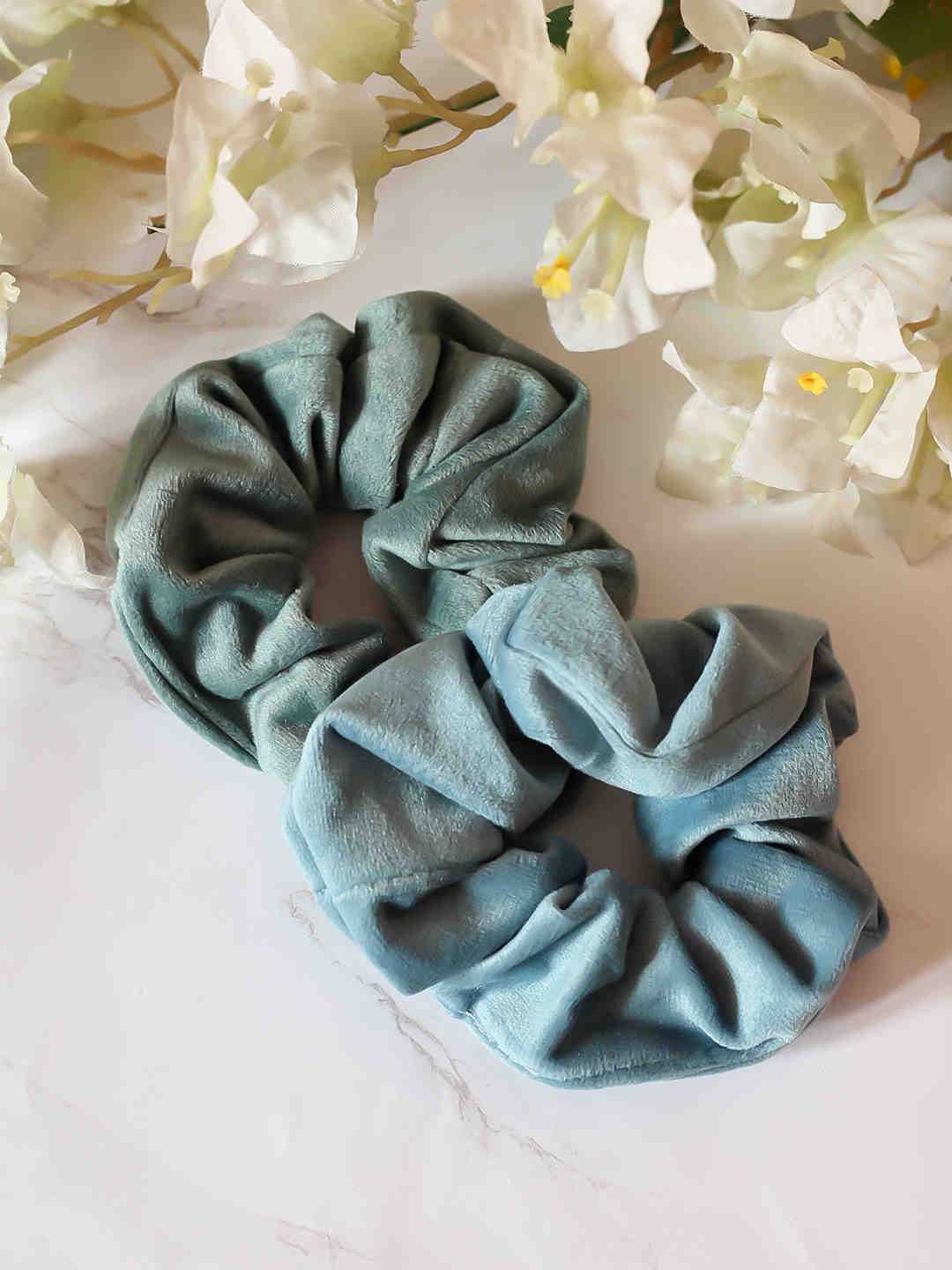 Bellofox Shades of Blue Scrunchie Hair Accessories