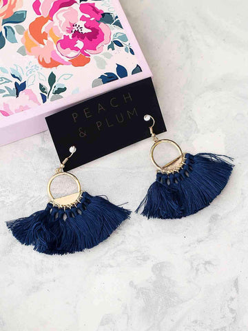 Bellofox Mist Tassel Earrings