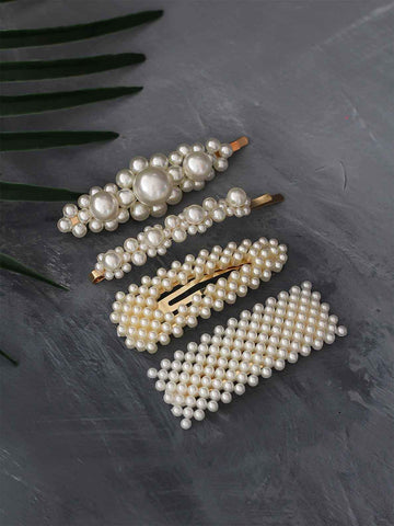 Bellofox Pearl Barrettes Hair Accessories HA1092