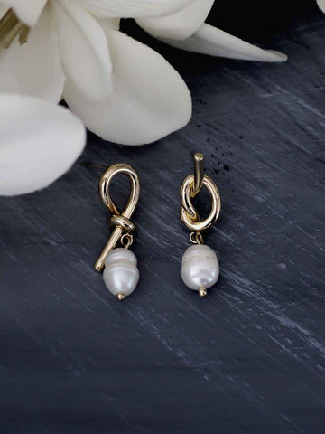 Bellofox Pearl Knots Earrings BE3288