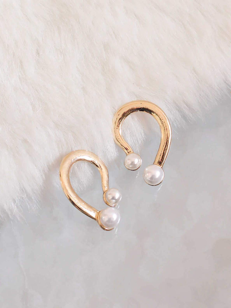 Bellofox Pearl Pair Drop Earrings BE3083