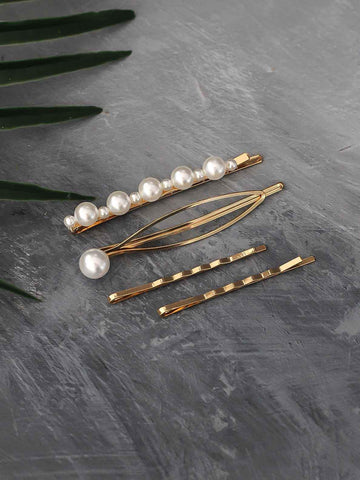 Bellofox Pearl & Metal Pins Hair Accessories HA1095